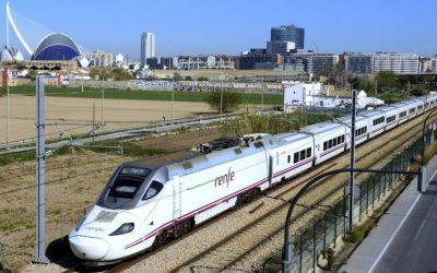 The Fast Train from Valencia to Barcelona