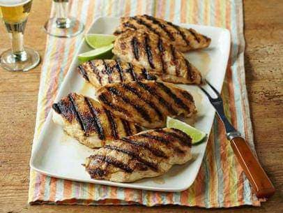 Grilled Chicken Supreme with Tequila and Lemon
