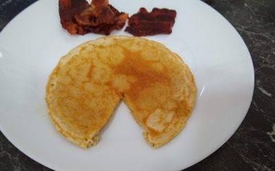 Healthy Oat Flour Pancakes