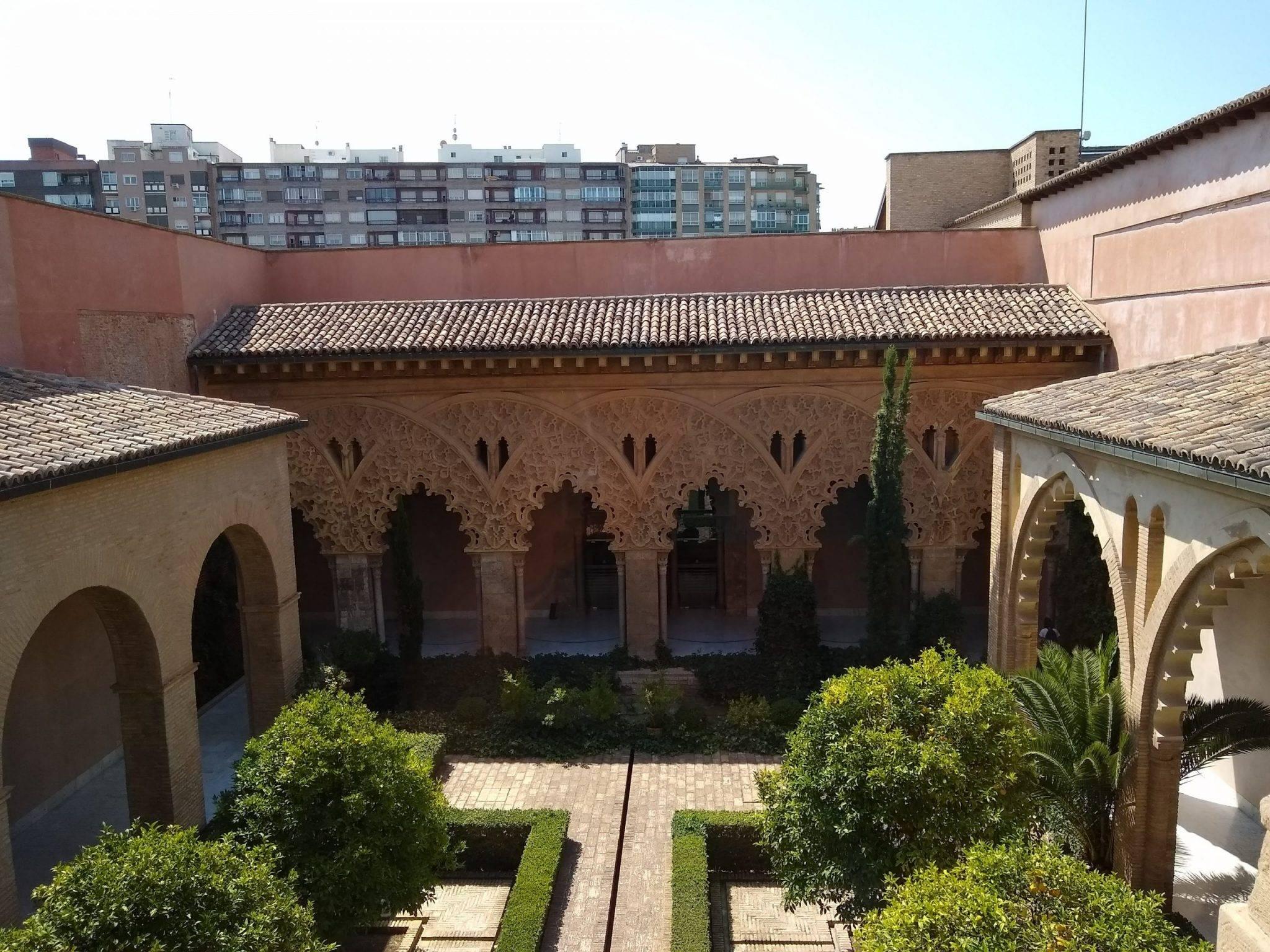 Travel through time at Aljafería Palace (Palacio de la Aljafería) in Zaragoza, Spain